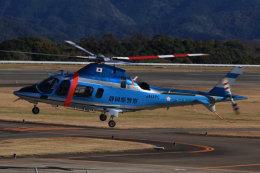 korosukeさんが、南紀白浜空港で撮影した静岡県警察 A109E Powerの航空フォト(飛行機 写真・画像)