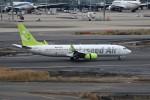 もぐ3さんが、羽田空港で撮影したソラシド エア 737-81Dの航空フォト(写真)
