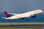Ariesさんが、羽田空港で撮影したデルタ航空 A350-941XWBの航空フォト(写真)