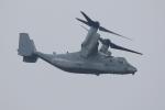 ぽんさんが、国分台演習場 - JGSDF Kokubudai Exercise Areaで撮影したアメリカ海兵隊 MV-22Bの航空フォト(写真)