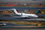 まいけるさんが、羽田空港で撮影したアメリカ企業所有 G-IVの航空フォト(写真)