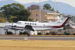 yabyanさんが、中部国際空港で撮影した中日本航空 B200 Super King Airの航空フォト(飛行機 写真・画像)