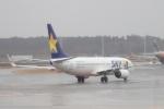 木人さんが、成田国際空港で撮影したスカイマーク 737-81Dの航空フォト(写真)