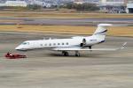 yabyanさんが、名古屋飛行場で撮影したプライベートエア G500/G550 (G-V)の航空フォト(飛行機 写真・画像)