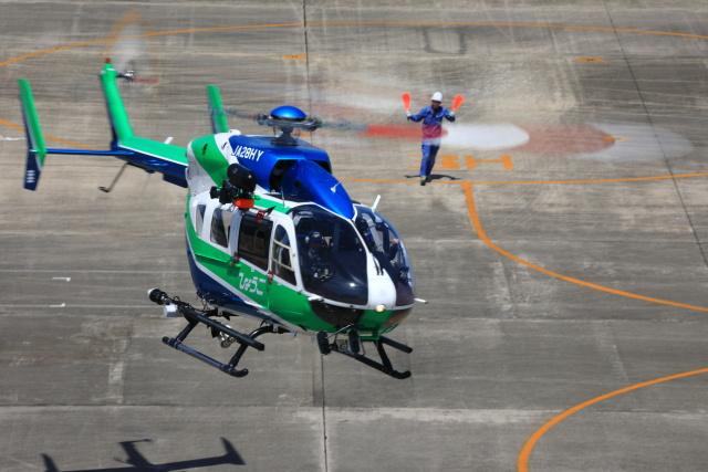 とらまるさんが、名古屋飛行場で撮影した兵庫県消防防災航空隊 BK117C-2の航空フォト(飛行機 写真・画像)