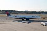 344さんが、成田国際空港で撮影したデルタ航空 A350-941XWBの航空フォト(飛行機 写真・画像)