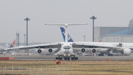 raichanさんが、成田国際空港で撮影したAVIACON ZITOTRAN Il-76TDの航空フォト(飛行機 写真・画像)