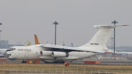 raichanさんが、成田国際空港で撮影したAVIACON ZITOTRANS Il-76TDの航空フォト(飛行機 写真・画像)