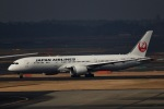 akinarin1989さんが、成田国際空港で撮影した日本航空 787-9の航空フォト(写真)