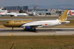 TIA spotterさんが、アタテュルク国際空港で撮影したガルフ・エア A320-214の航空フォト(写真)