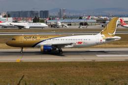 TIA spotterさんが、アタテュルク国際空港で撮影したガルフ・エア A320-214の航空フォト(飛行機 写真・画像)
