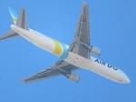 ランチパッドさんが、木更津飛行場で撮影したAIR DO 767-381/ERの航空フォト(飛行機 写真・画像)