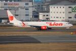 TIA spotterさんが、福岡空港で撮影したタイ・ライオン・エア 737-9-MAXの航空フォト(飛行機 写真・画像)