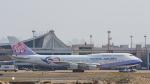 2wmさんが、台湾桃園国際空港で撮影したチャイナエアライン 747-409の航空フォト(飛行機 写真・画像)