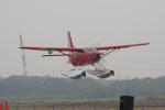 神宮寺ももさんが、笠岡ふれあい空港で撮影したせとうちSEAPLANES Kodiak 100の航空フォト(写真)