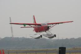 神宮寺ももさんが、笠岡ふれあい空港で撮影したせとうちSEAPLANES Kodiak 100の航空フォト(飛行機 写真・画像)