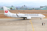 Den-Tさんが、小松空港で撮影した日本トランスオーシャン航空 737-8Q3の航空フォト(写真)