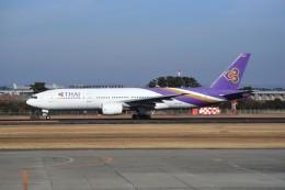 kumagorouさんが、仙台空港で撮影したタイ国際航空 777-2D7の航空フォト(飛行機 写真・画像)