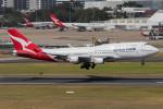 Koenig117さんが、シドニー国際空港で撮影したカンタス航空 747-438/ERの航空フォト(飛行機 写真・画像)