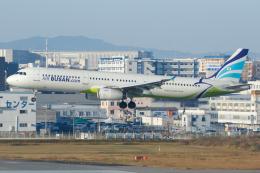 よっしぃさんが、福岡空港で撮影したエアプサン A321-231の航空フォト(飛行機 写真・画像)