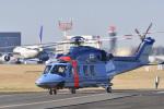 パンダさんが、成田国際空港で撮影した千葉県警察 AW139の航空フォト(写真)