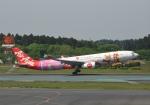 あおいそらさんが、成田国際空港で撮影したタイ・エアアジア・エックス A330-343Xの航空フォト(写真)