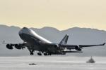 FLYING  HONU好きさんが、関西国際空港で撮影したシルクウェイ・ウェスト・エアラインズ 747-4R7F/SCDの航空フォト(写真)