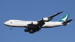 raichanさんが、成田国際空港で撮影したキャセイパシフィック航空 747-867F/SCDの航空フォト(写真)