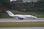 もぐ3さんが、那覇空港で撮影した国土交通省 航空局 525C Citation CJ4の航空フォト(写真)