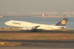 空旅さんが、羽田空港で撮影したルフトハンザドイツ航空 747-830の航空フォト(写真)