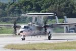 木人さんが、那覇空港で撮影した航空自衛隊 E-2C Hawkeyeの航空フォト(写真)
