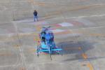 みのフォトグラファさんが、名古屋飛行場で撮影した秋田県警察 BK117C-1の航空フォト(飛行機 写真・画像)