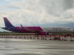 マッペケさんが、ワルシャワ・フレデリック・ショパン空港で撮影したウィズ・エア A321-231の航空フォト(飛行機 写真・画像)