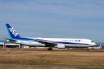 sg-driverさんが、佐賀空港で撮影した全日空 767-381/ERの航空フォト(写真)