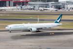 Koenig117さんが、シドニー国際空港で撮影したキャセイパシフィック航空 777-367/ERの航空フォト(写真)