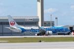 木人さんが、那覇空港で撮影した日本トランスオーシャン航空 737-8Q3の航空フォト(写真)