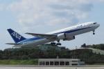 木人さんが、那覇空港で撮影した全日空 767-381/ERの航空フォト(写真)
