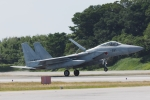 木人さんが、那覇空港で撮影した航空自衛隊 F-15J Eagleの航空フォト(写真)