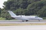 木人さんが、那覇空港で撮影した国土交通省 航空局 525C Citation CJ4の航空フォト(写真)