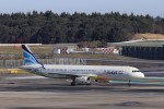 KAZFLYERさんが、成田国際空港で撮影したエアプサン A321-131の航空フォト(飛行機 写真・画像)