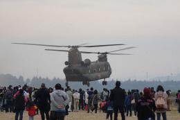 神宮寺ももさんが、笠岡ふれあい空港で撮影した陸上自衛隊 CH-47Jの航空フォト(飛行機 写真・画像)