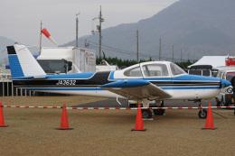 神宮寺ももさんが、笠岡ふれあい空港で撮影した日本法人所有 FA-200-180 Aero Subaruの航空フォト(飛行機 写真・画像)