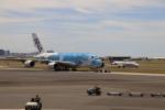 T_pontaさんが、ダニエル・K・イノウエ国際空港で撮影した全日空 A380-841の航空フォト(飛行機 写真・画像)