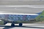 FLYING  HONU好きさんが、関西国際空港で撮影したジンエアー 737-86Nの航空フォト(写真)