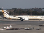 FT51ANさんが、成田国際空港で撮影したエティハド航空 787-9の航空フォト(写真)