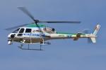 ブルーさんさんが、静岡ヘリポートで撮影した中日本航空 AS355Nの航空フォト(写真)