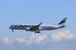 KAZFLYERさんが、成田国際空港で撮影したフィンエアー A350-941XWBの航空フォト(飛行機 写真・画像)