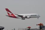 kuro2059さんが、香港国際空港で撮影したカンタス航空 A380-842の航空フォト(飛行機 写真・画像)