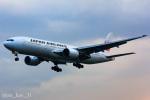 かっちゃん✈︎さんが、伊丹空港で撮影した日本航空 777-246の航空フォト(飛行機 写真・画像)