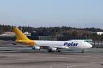 KAZFLYERさんが、成田国際空港で撮影したポーラーエアカーゴ 747-45EF/SCDの航空フォト(飛行機 写真・画像)